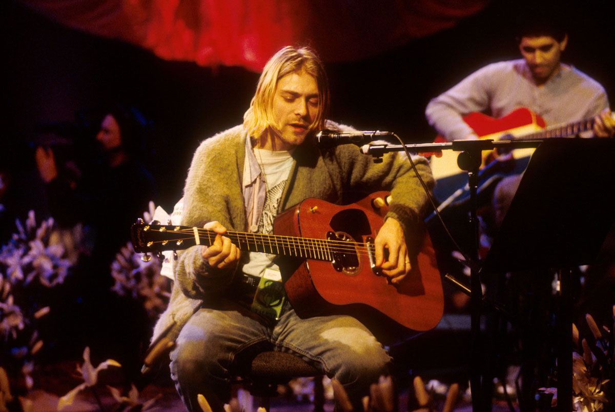 NIRVANA Producer Talks About Kurt Cobain's Unique Guitar Playing