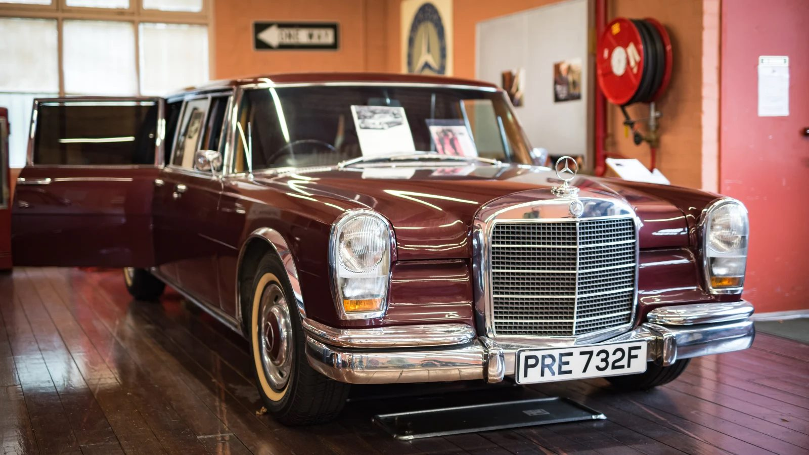 one of the Ringo Starr car - Mercedes 600