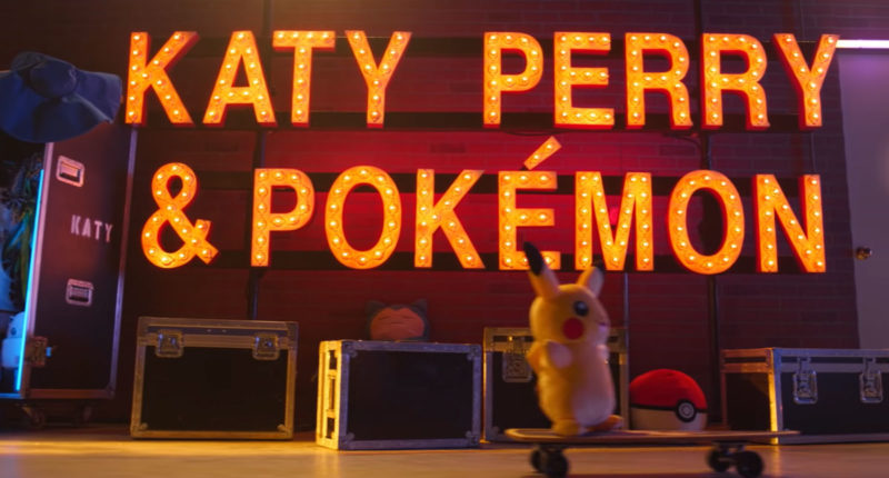 Pokemon Releases 25th Anniversary Video with Katy Perry