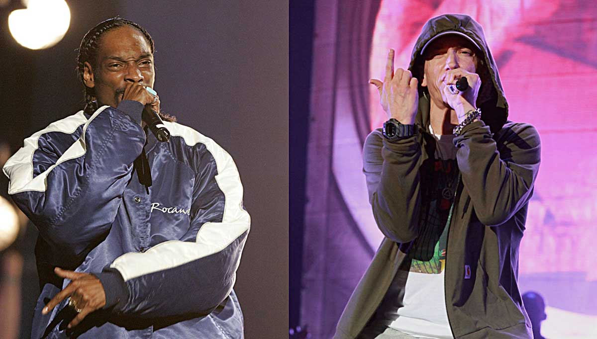Snoop Dogg Says 'We Good' about Eminem Beef