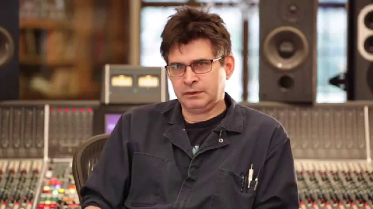"Steve Albini, producer of ""In Utero"""