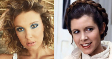 Stranger Things Star Millie Bobby Brown as Princess Leia in Star Wars