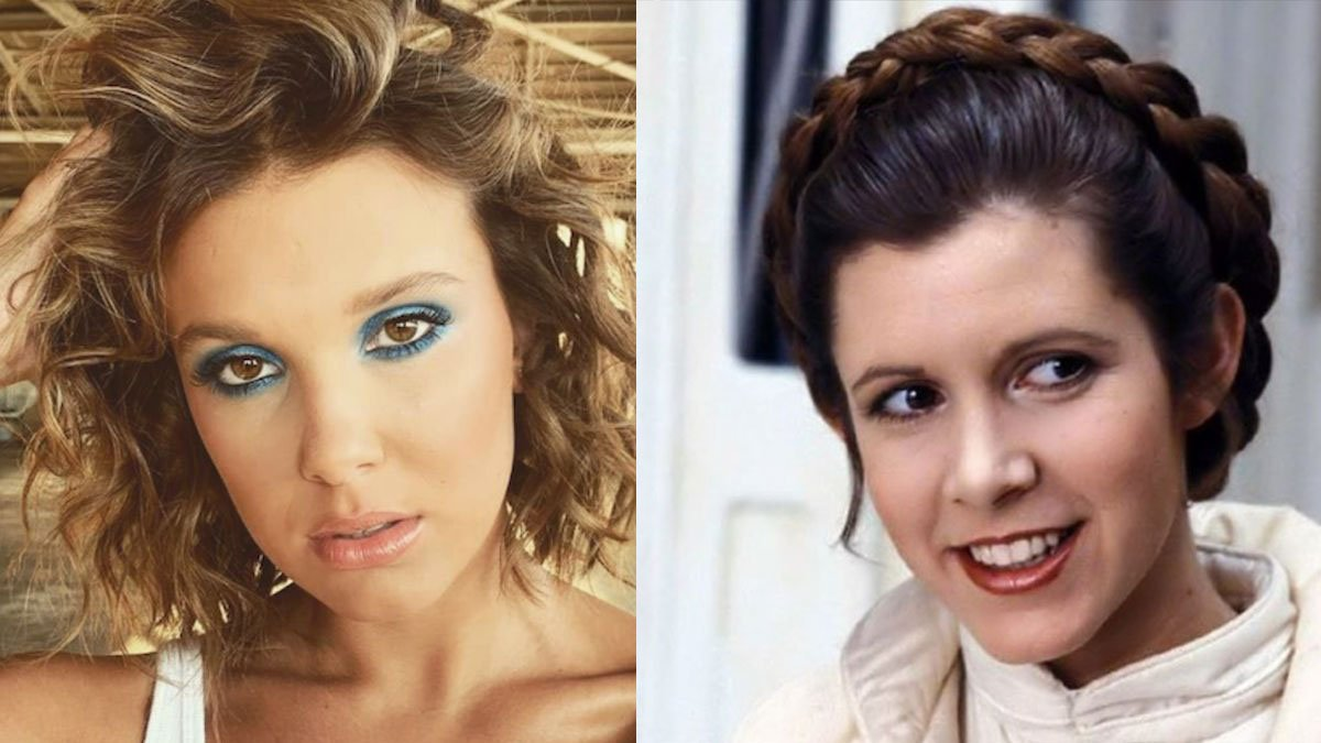 Stranger Things Star Millie Bobby Brown as Princess Leia in New Star Wars Video