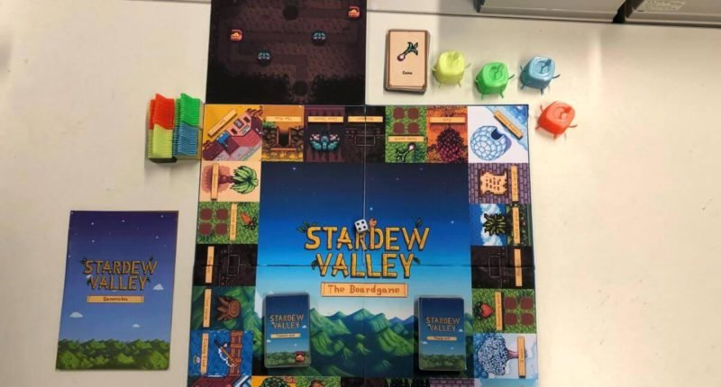 Stardew Valley: The Board Game Has Surprisingly Out!