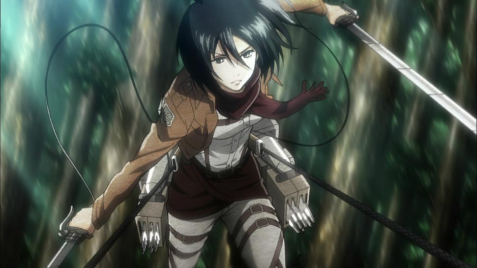 Mikasa, Attack On Titan
