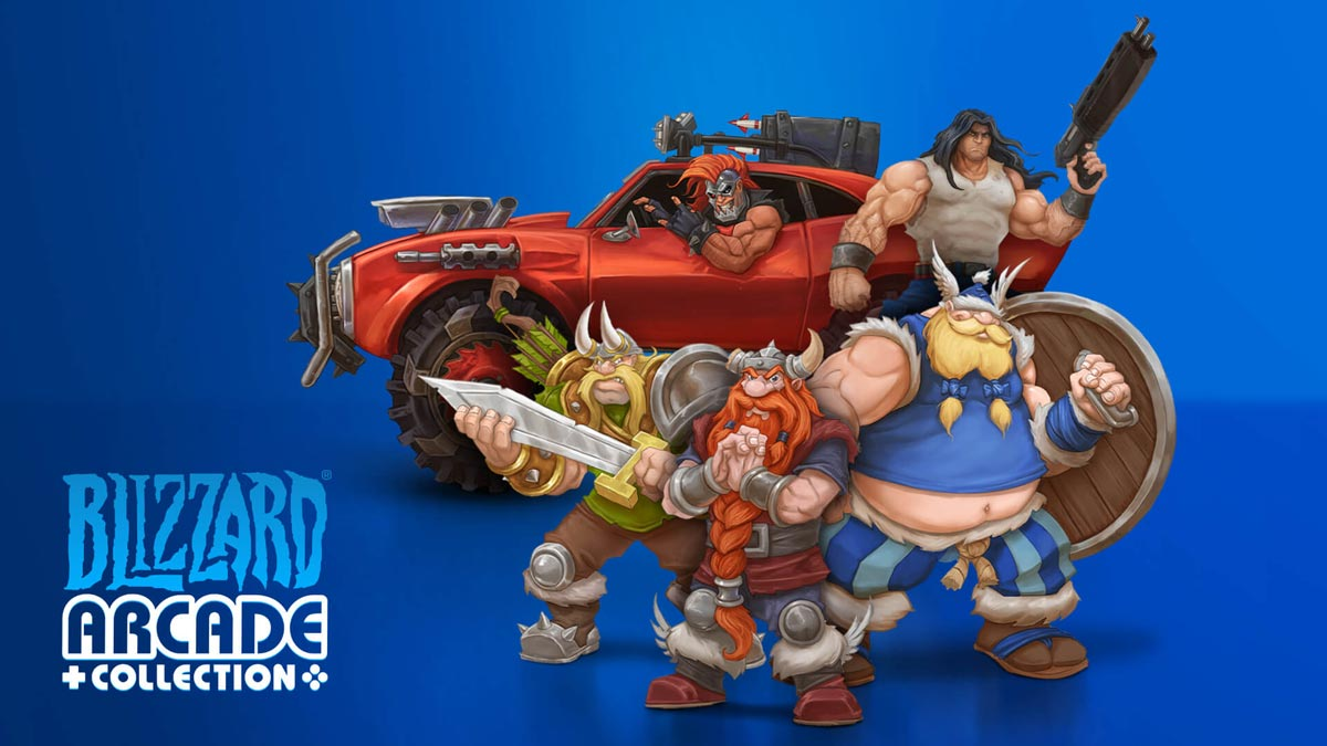 Blizzard Arcade Collection Coming to PS4 and PS5 Today