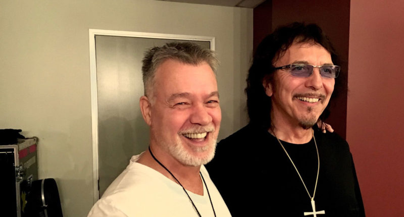 BLACK SABBATH Guitarist Tony Iommi Tribute to Eddie Van Halen Talent