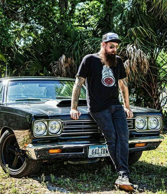 Jim Root and his classic American car