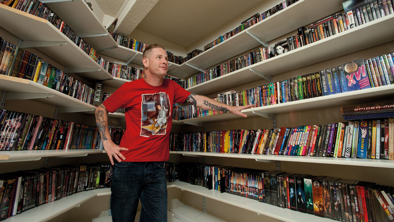 Corey Taylor's comic book collection