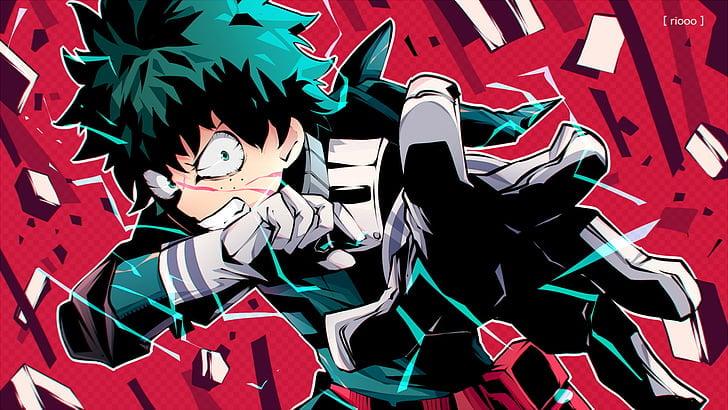 Midoriya, My Hero Academia