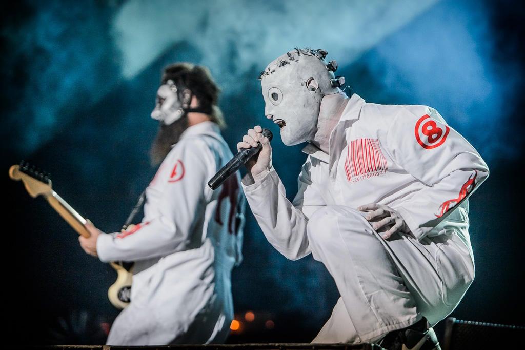 SLIPKNOT at Monsters of Rock 2013 in Brazil