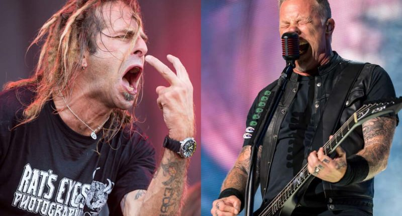 """Lamb of God vocalist Randy Blythe: """"Metallica is over there"""""""