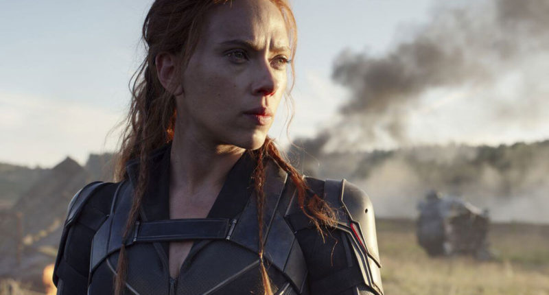 Scarlett Johansson spotted in new Black Widow costume in BTS image
