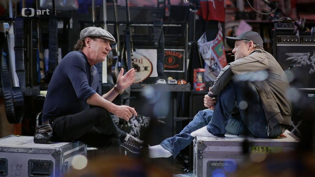 Brian Johnson reveals what he thinks about Metallica's Lars Ulrich