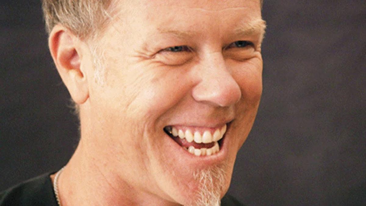 Metallica frontman James Hetfield laughs moments in every songs