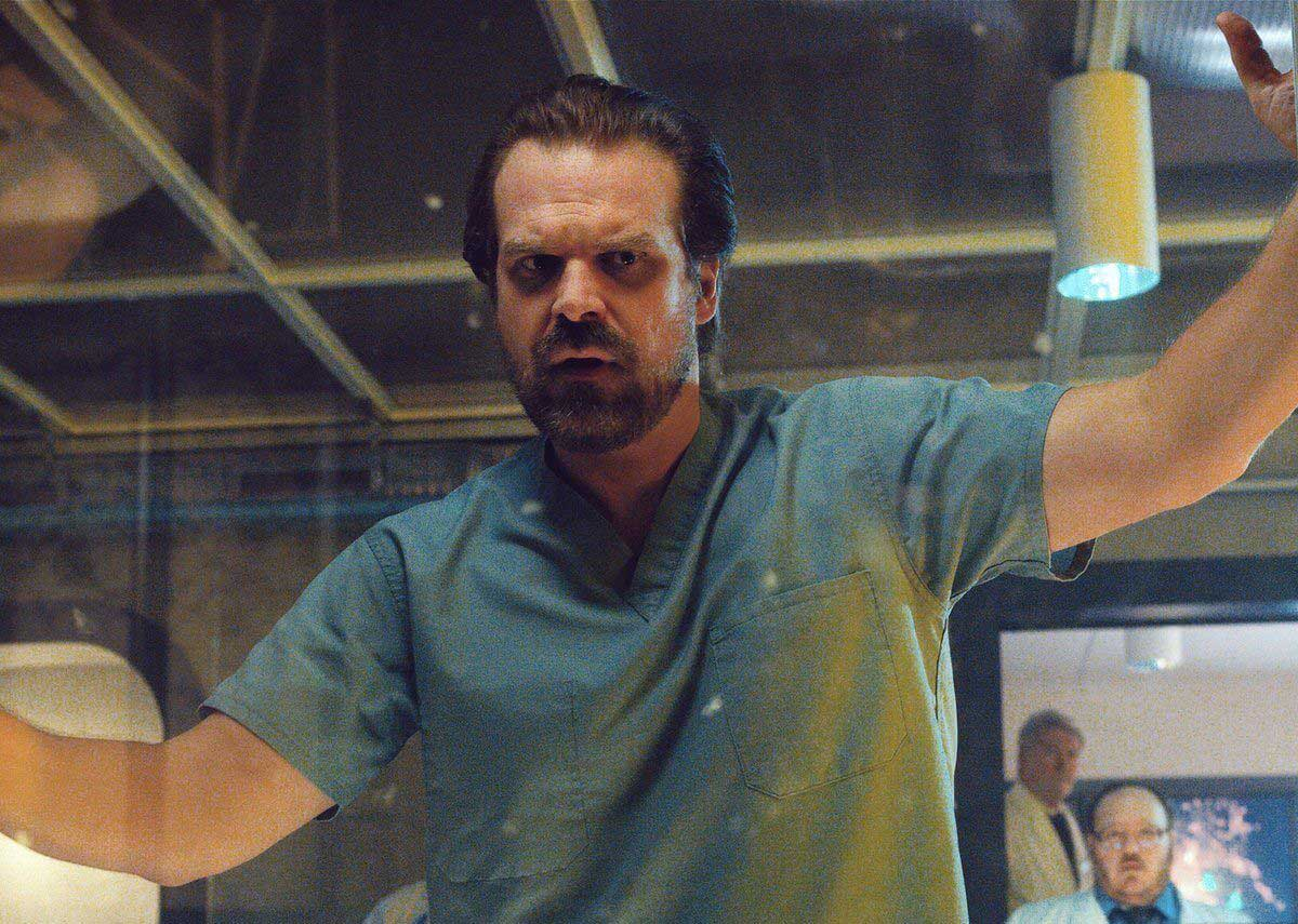 Stranger Things star David Harbour's thoughts on Duffer Brothers