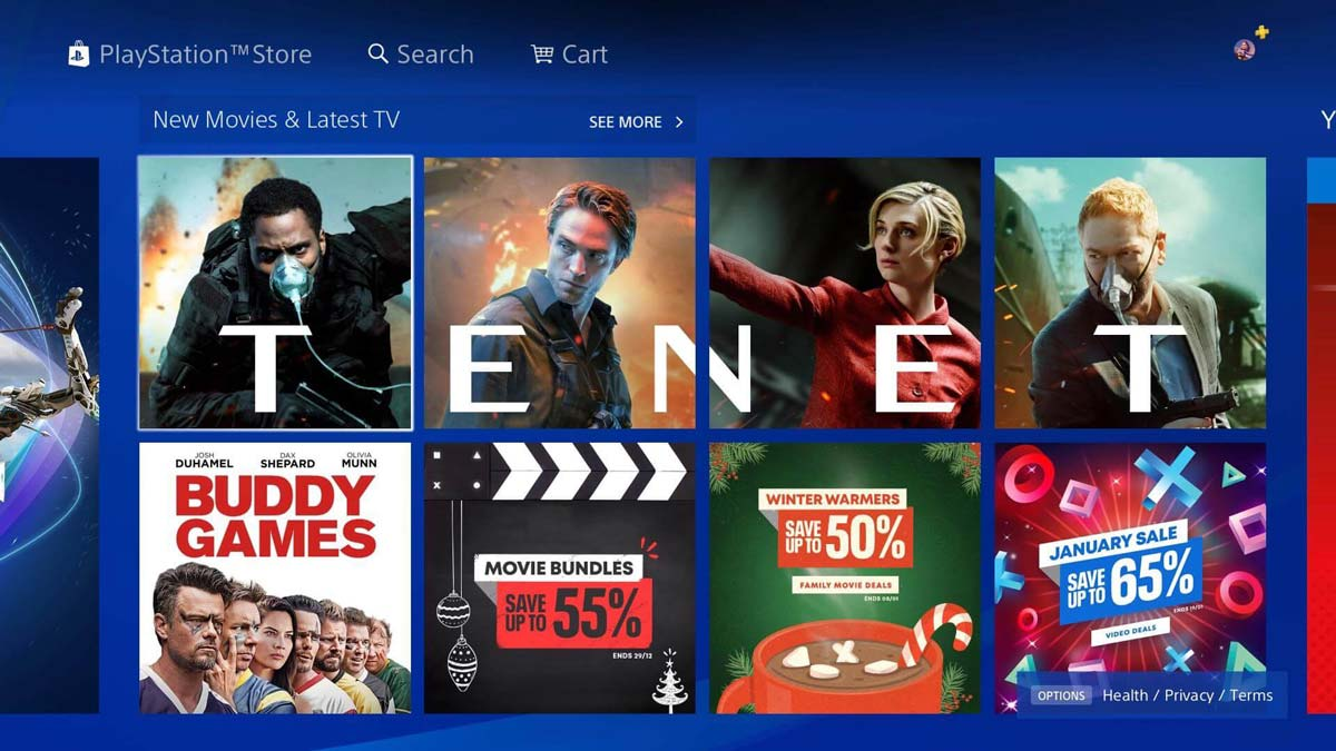 PlayStation Store will cut selling movies and TV content this summer