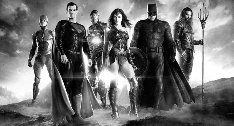 Zack Snyder's Justice League reveals monochrome with Justice is Gray edition