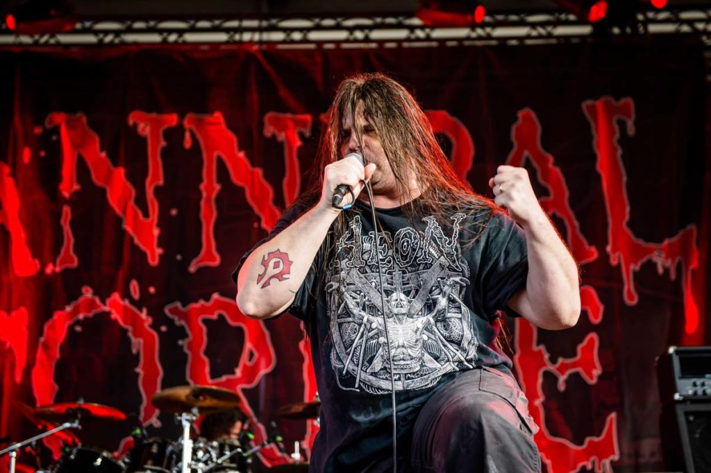 Cannibal Corpse frontman George Fisher talks about their gory lyrics