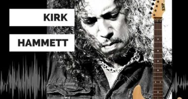 Kirk Hammett selling his guitar who used for the Metallica's music videos