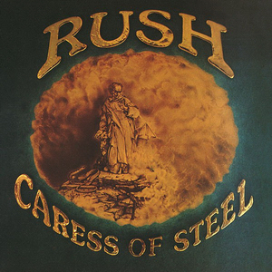 Rush Caress Of Steel Cover