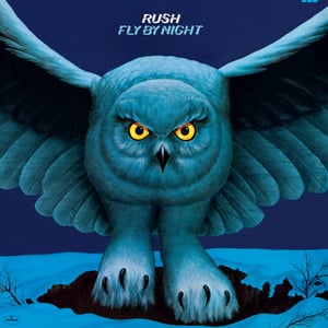 Rush Fly By Night Cover