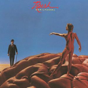 Rush Hemispheres Cover