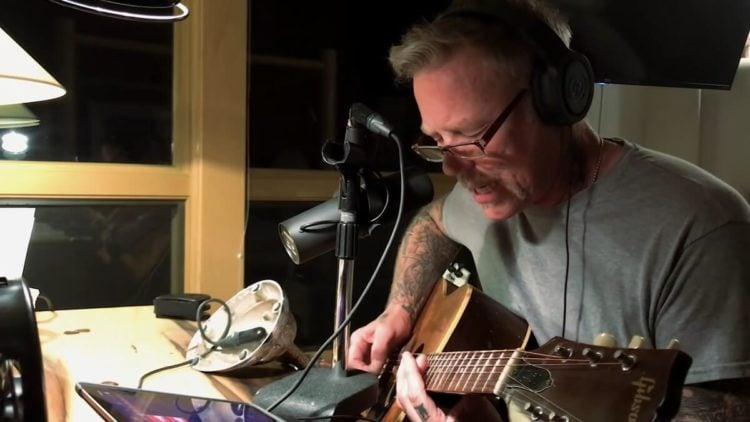The new Metallica album is on the way, James Hetfield says