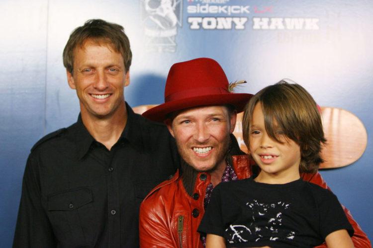 Scott Weiland with Tony Hawk