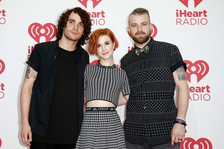 Hayley Williams with Paramore