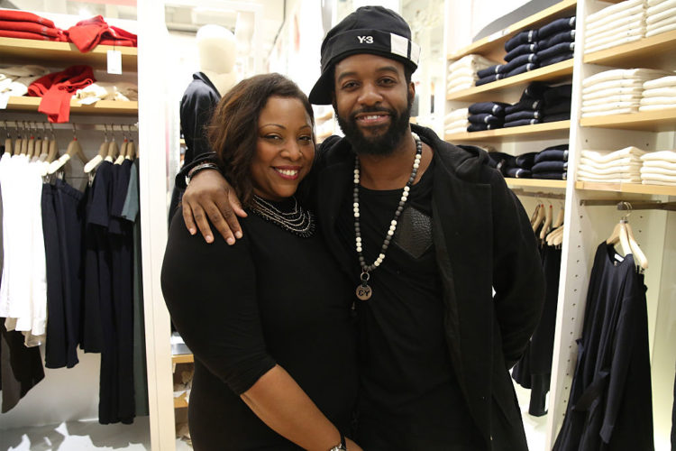 Mickey Factz and Natalie Harewood